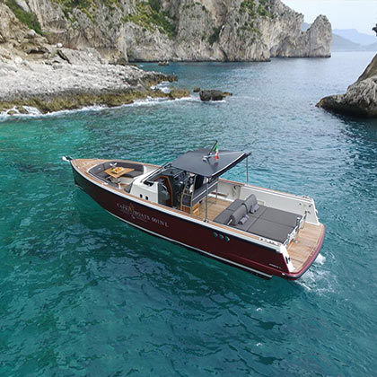 Capri Boats - Fast and fascinating